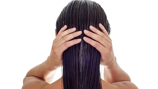 hair, oil