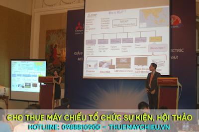 VNPC cung cấp dịch vụ cho thuê máy chiếu phục vụ hội thảo, Event, sự kiện chuyện nghiệp, giá rẻ tại TPHCM