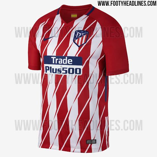 atletico 17 18 home kit 2