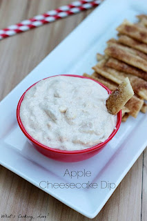Apple Cheesecake Dip by What's Cooking Love.