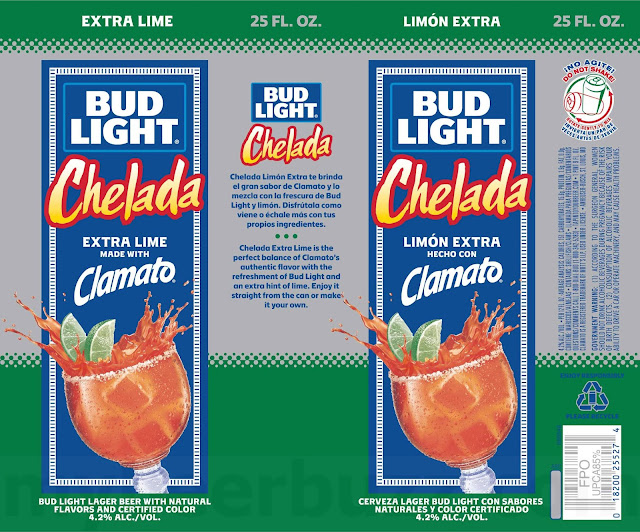Bud Light Amp Clamato Chelada Now With Extra Lime In 25oz