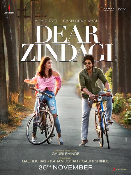 Poster Of Dear Zindagi 2016 480p Hindi pDVDRip Full Movie Download