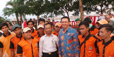 Ahok, Basuki Tjahaja Purnama, Gubernur Ahok, Pasukan Orange, PPSU, Video Pasukan Orange, BPJS, THR, Jakarta