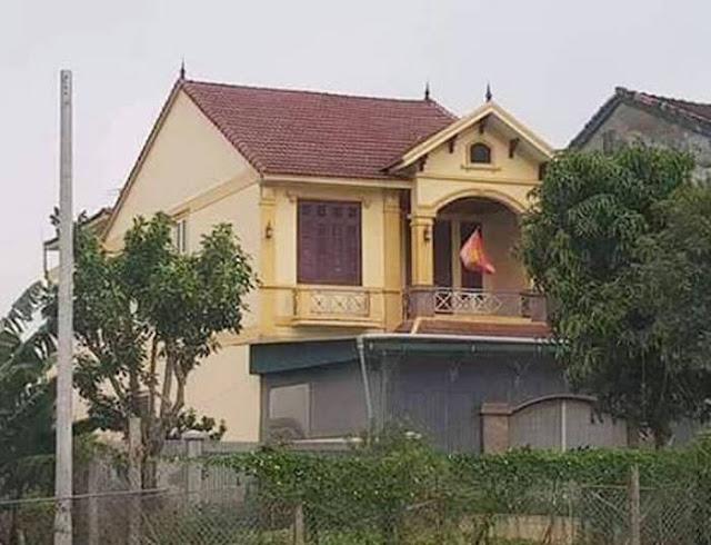 """""""Ngôi nhà to nhất xã"""" được cho là của ông Đặng Giang Trung"""