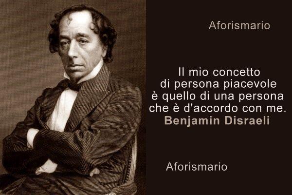 Aforismario Frasi Celebri Di Benjamin Disraeli
