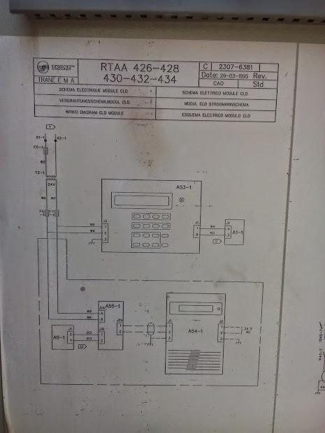 trane chiller wiring-diagram