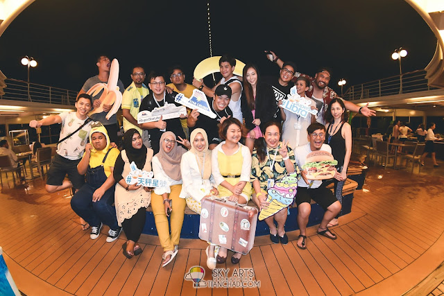 Star cruises Superstar Libra 丽星邮轮 天秤号 3D2N 槟城 普吉岛 Penang Phuket starcruises libra Farewell Party Dinner Night