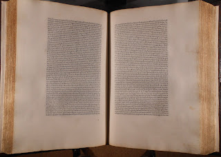 Page opening of Jenson's edition of Pliny.
