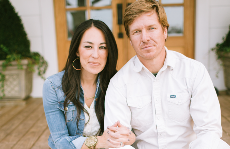Chip and joanna gaines of the magnolia journal tangled up in church