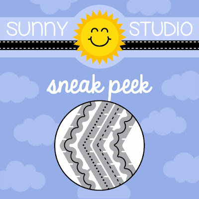 Sunny Studio Stamps: Fishtail Banners II Dies Sneak Peek