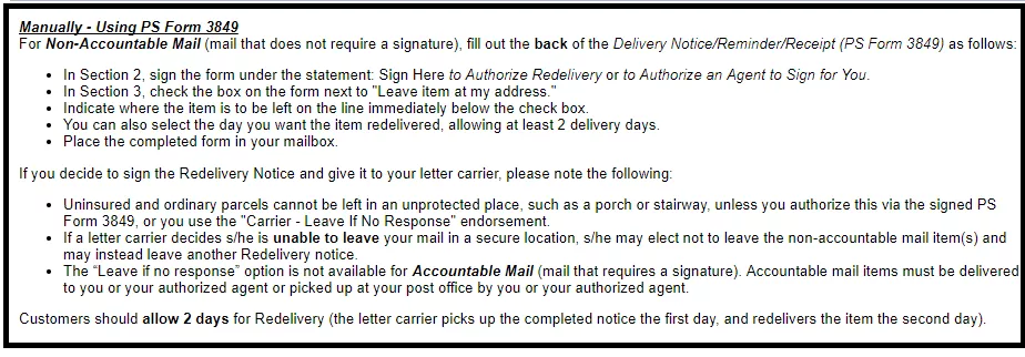 USPS Tracking Hour: How to Schedule a USPS Redelivery ?