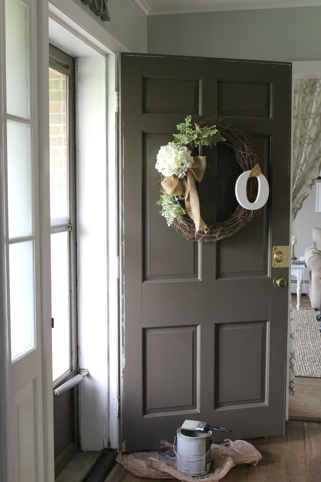 Grace Lee Cottage Painted Amp Distressed Front Door A