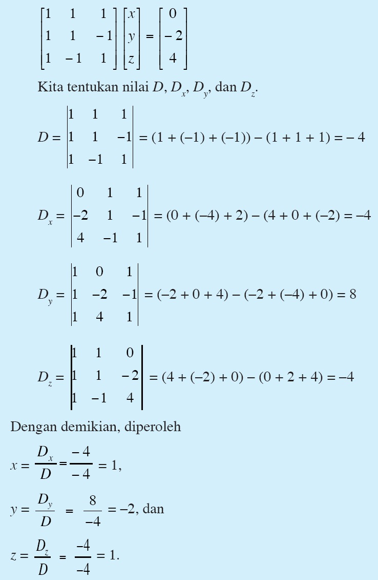 Soal Matematika Smk Tentang Matriks Download Soal Un Smasmkma E Sbmptn Transpose Skalar Determinan Matematika Perpustakaan Cyber