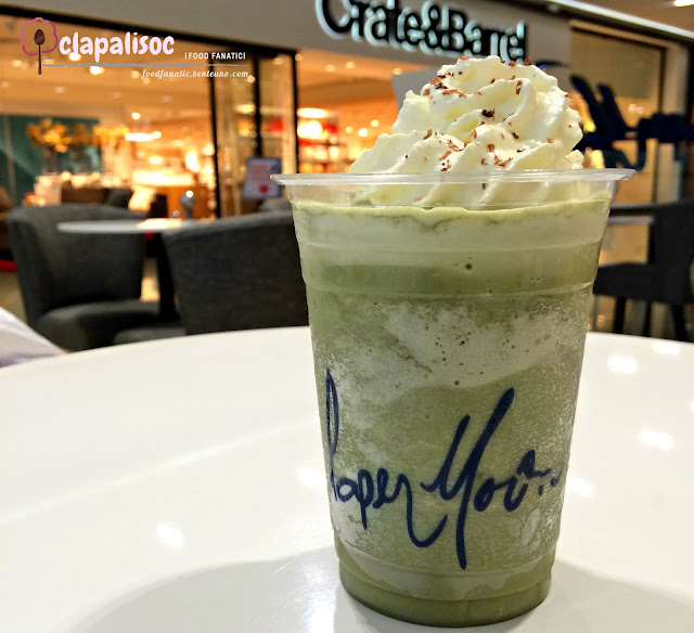 Matcha Hazelnut Blended Drink