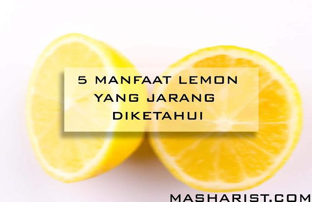 5 Manfaat Lemon yang Jarang Diketahui