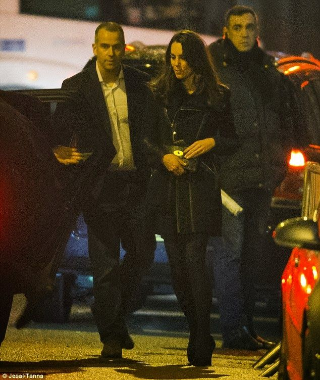 William And Catherine Attends A Birthday Party