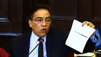 Roberto Vieira: Fiscalía abrió investigación preliminar por tráfico de influencias