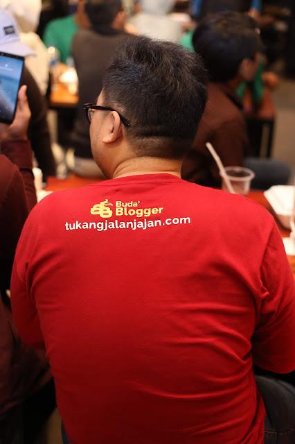 Tukang Jalan Jajan hadir di Peluncuran Video Klip Yok Idop Sehat