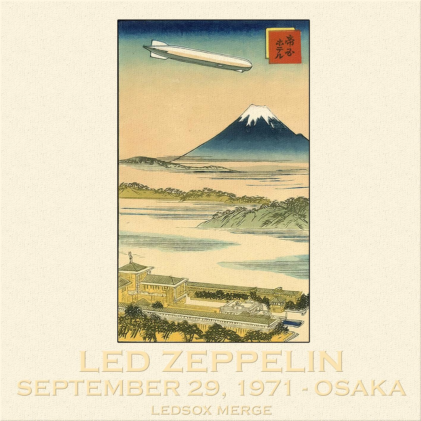 Led Zeppelin - 1971-09-29 - Festival Hall, Osaka (SBD + Winston