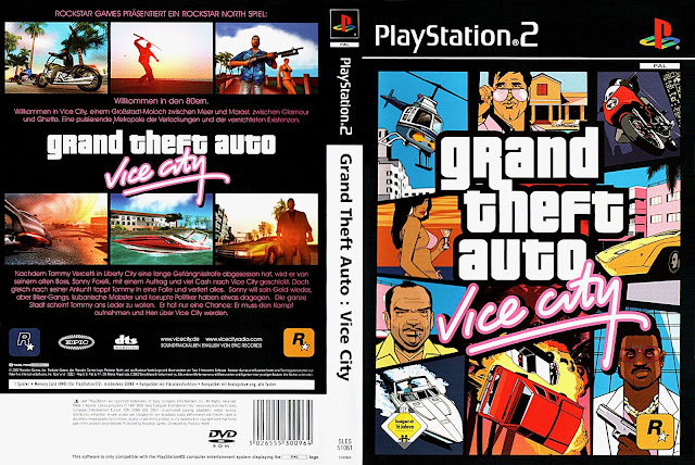Capa GTA Vice City PS2