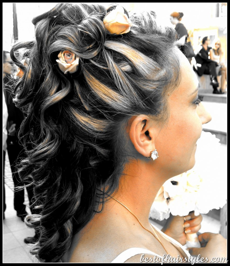 Wedding Hair Style Weave: Women Trend Hair Styles For 2013: Black Updo Hairstyles
