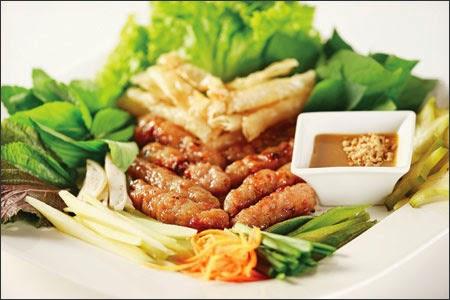 đặc sản nem nướng Nha Trang