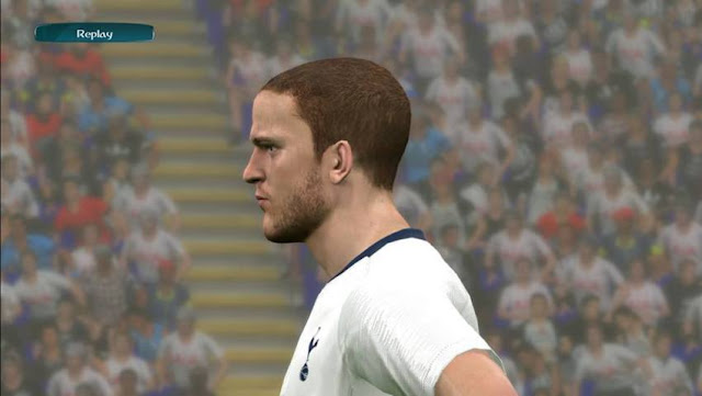 Eric Dier Face PES 2017