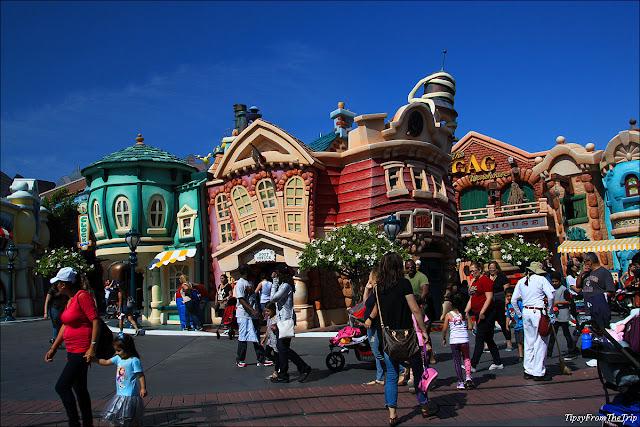 Toon Town, Disneyland, California