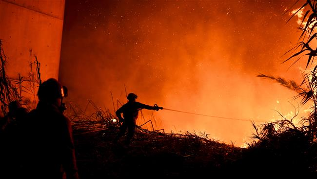 Portugal asks for help from Europe to fight forest fires