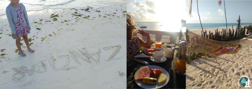 Uhuru Beach Hotel a Jambiani, alba e colazione
