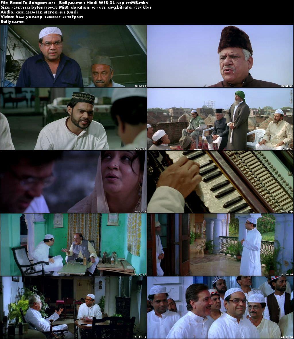 Road To Sangam 2010 WEB-DL 999MB Hindi 720p Download