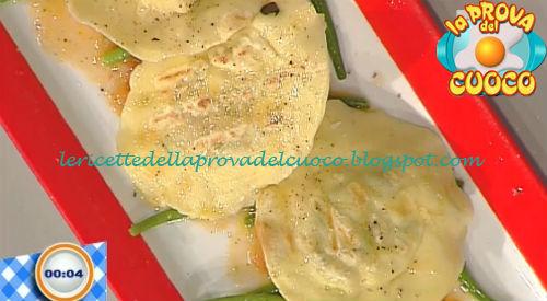 Ravioli al dentice alla griglia ricetta paolo zoppolatti for Cucinare dentice