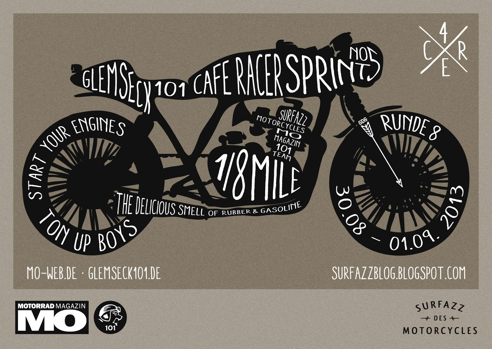 Cafe Racer Sprint 2013