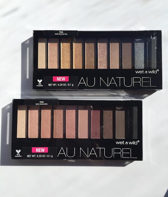 review wet n wild nude awakening palette