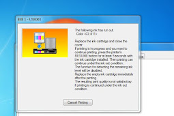 Cara Mengatasi Printer Canon MP287 Error E13