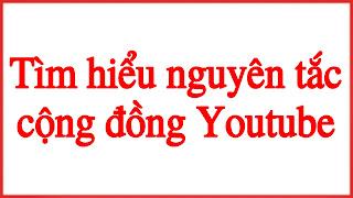 Nguyên tắc cộng đồng youtube