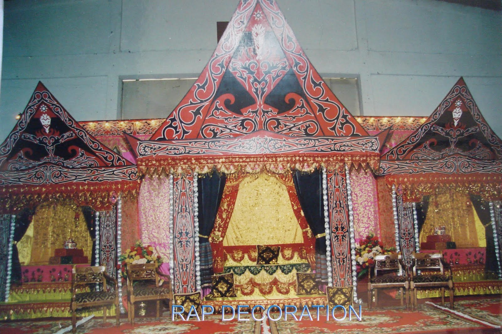 Rap Decoration: Batak (Tapanuli Utara)
