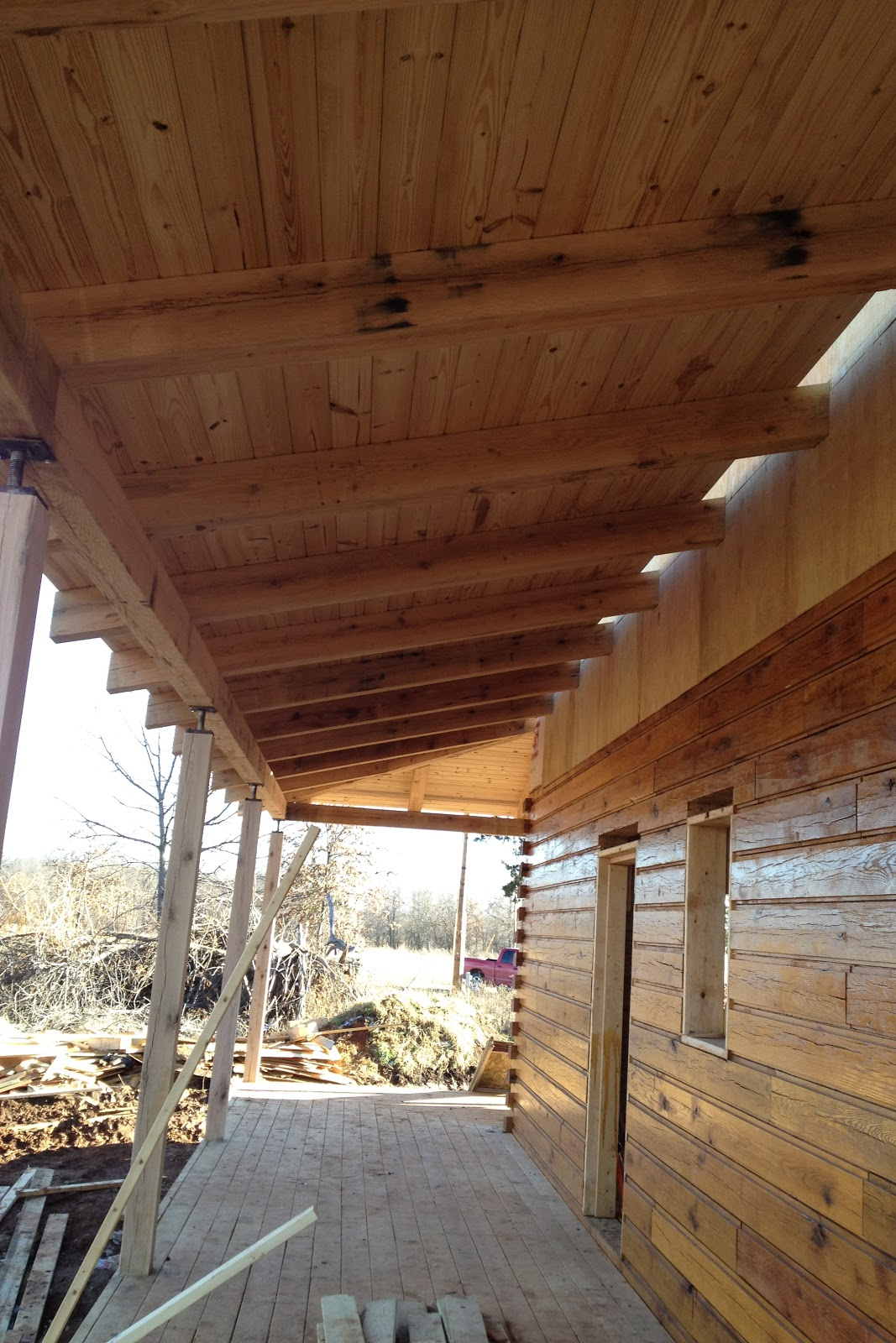 Soffits Siding Stairs Sanding Staining And Porch Roofs