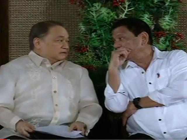 'Running for President was a Mistake' Duterte Complains to MVP.