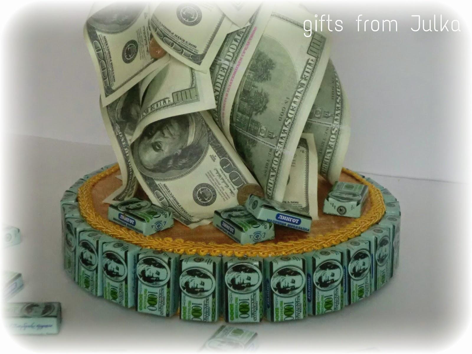 Открытка из денежных купюр своими руками, художественная открытка открытки