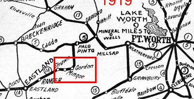 The Fort Worth Gazette: Gordon: The Lost Town On A