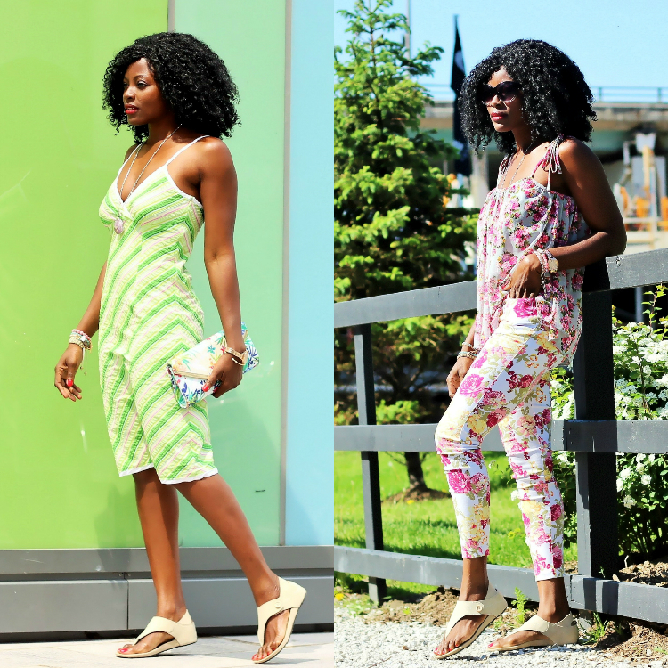 A MUCH NEEDED PAIR OF SUMMER SANDALS: 2 WAYS