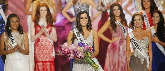 Miss Colombia's Paulina Vega Become the Miss Universe 2015