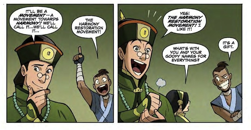 Avatar The Last Airbender: The Promise Part 1, Writer: Gene Luen Yang Art: Gurihiru  Avatar: The Last Airbender created by Michael Dante DiMartino and Bryan Konietzko