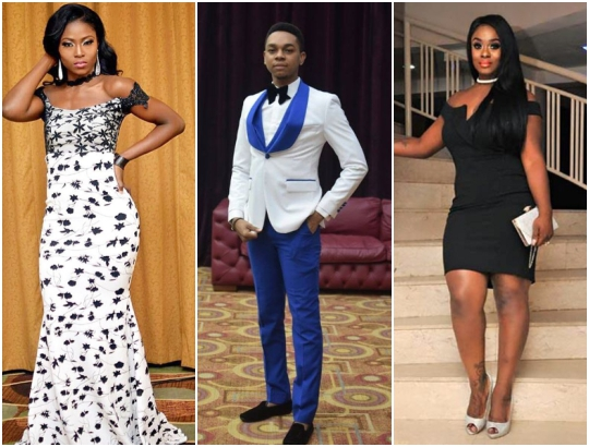 Big brother Naija stars, Bisola, Uriel, Debie-Rise, Miyonse, Soma & Uriel stun at their Abuja dinner party (Photos)