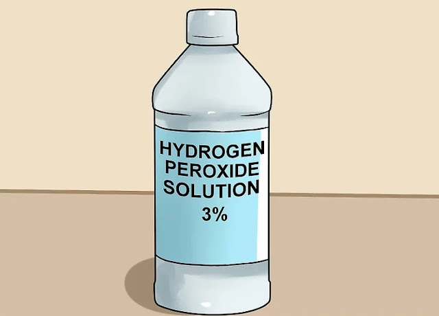 Step 1 How to Clear up Acne With Hydrogen Peroxide