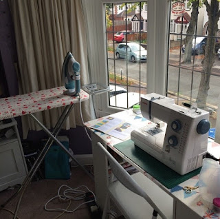 making a new ironing board cover