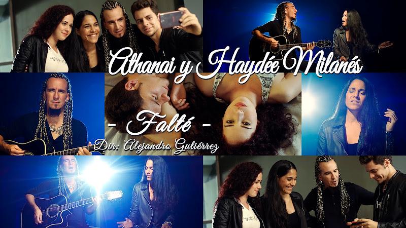 Athanai & Haydée Milanés - ¨Falté¨ - Videoclip - Dirección: Alejandro Gutiérrez. Portal del Vídeo Clip Cubano