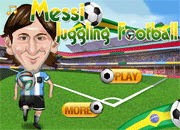 Messi Juggling Football