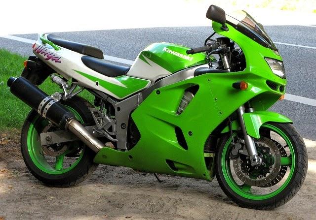The Kawasaki Ninja ZX-14
